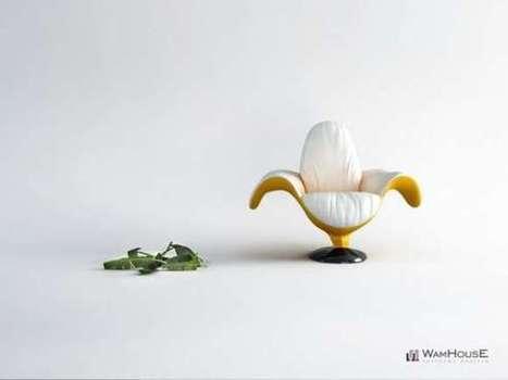 Banana-Shaped Seating | Arte y Fotografía | Scoop.it