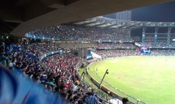 IPL match at Mumbai Stadium | ChaturYatri-Travel Stories on Budget Travel in India | IPL Fever at Wankhede Stadium | Scoop.it