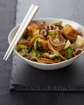 Crispy Tofu with Noodles Recipe - Pino Maffeo | Food & Wine | À Catanada na Cozinha Magazine | Scoop.it