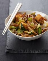 Crispy Tofu with Noodles Recipe - Pino Maffeo | Food & Wine | À Catanada na Cozinha Magazine | Scoop.it