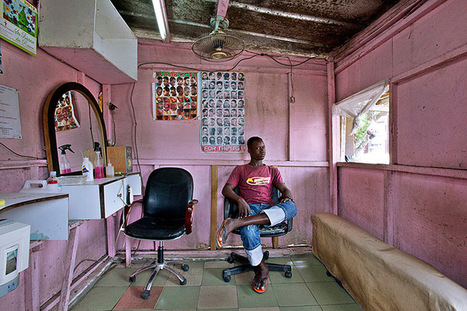 The barbershops of west Africa | Urban Decay Photography | Scoop.it