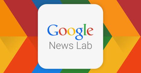 Google lance un laboratoire en ligne pour former des journalistes | DocPresseESJ | Scoop.it