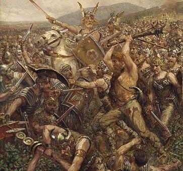 Arminio, el trágico final de un héroe   LVDVS CHIRONIS 3.0   Scoop.it