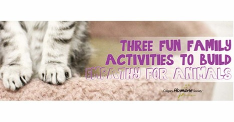 Three fun family activities to build empathy for animals - Calgary Humane Society | Empathy and Animals | Scoop.it