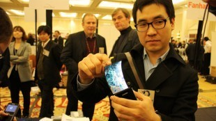 Samsung's transparent flexible AMOLED screen demoed again | MobileandSocial | Scoop.it