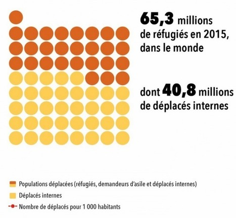 Les réfugiés dans le monde en 2015 [lhistoire.fr]   DataViz   Scoop.it