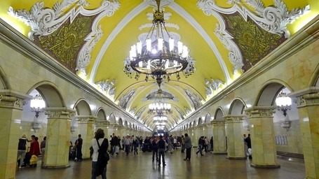 Art and Decor of Moscow Metro Stations | Amusing Planet | Urban Exploration | Scoop.it