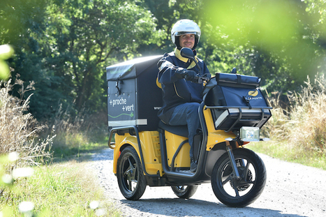 "L'innovation « made in » La Poste | ""green business"" 