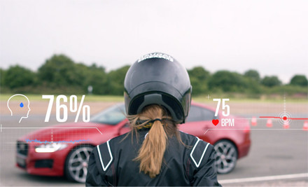 Jaguar XE | Biometrics - The Science behind excitment | UX-UI-Wearable-Tech for Enhanced Human | Scoop.it
