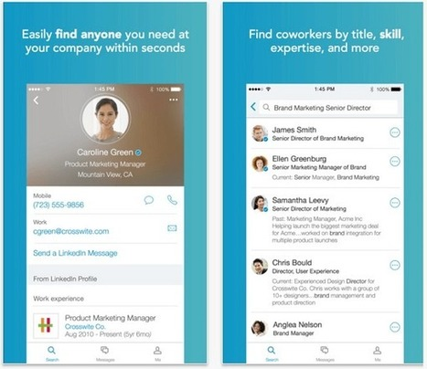 LinkedIn Mobile: What Marketers Need to Know | Social Media, SEO, Mobile, Digital Marketing | Scoop.it