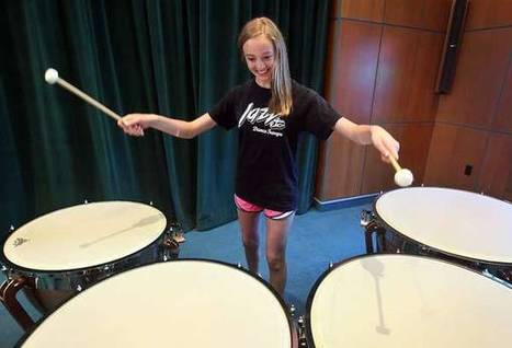 Percussion ensemble camp lets young musicians shine - Quincy Herald-Whig ... - Quincy Herald Whig | Percussion | Scoop.it