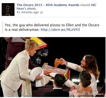 11.1 million people had over 25.4 million interactions about the Oscars on Facebook - Lost Remote   screen seriality   Scoop.it