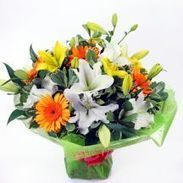 Lilies - Delivery London UK - Send Lilies Bouquets & Arrangements | Flowers for delivery in United Kingdom | Scoop.it