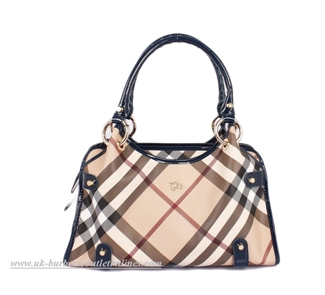 Burberry Blue Check Print Top Zip Shopper [B004363] - $199.00 : Burberry Outlet Stores,Burberry Outlet Online,Cheap Burberry For Sale | Burberry Oultet | Scoop.it
