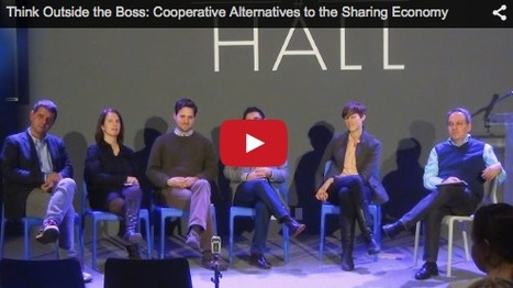 Video: Trebor Scholz et al. on how good digital labor practices will depend on the emergence of platform cooperativism | P2P Foundation | Peer2Politics | Scoop.it