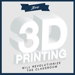 How 3D Printing Will Revolutionize the Classroom - Online Degrees   Language Learning & Mobile technology   Scoop.it