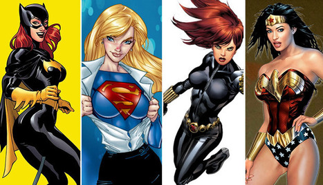10 Awesome Superhero Women! | Superheroes & Supervillains | Scoop.it
