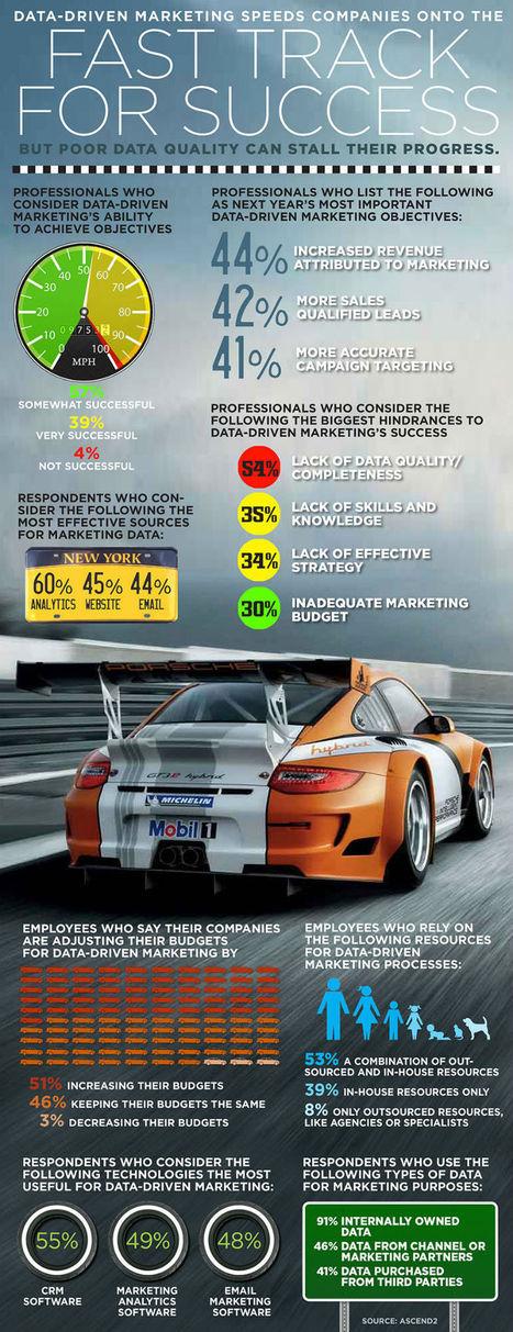 DataDriven Marketing Speeds Success but poor Data Quality stalls their progress   Big Data   Scoop.it