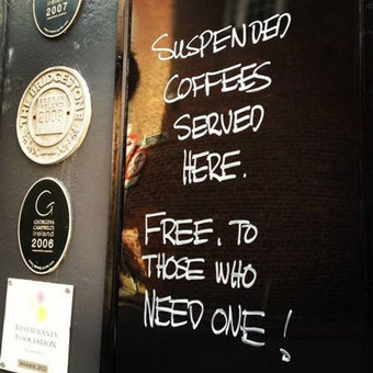 #923 Suspend the next two coffees, please | This Gives Me Hope | Scoop.it