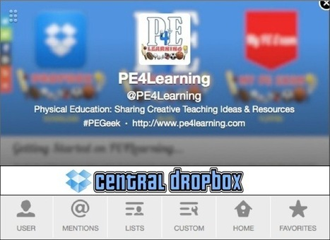 Download PE4Learning Teaching Ideas and Resources on Dropbox | Educación Física TIC | Scoop.it