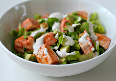 Buffalo Chicken Salad.  #Food #Recipes | Health and Fitness Articles | Scoop.it