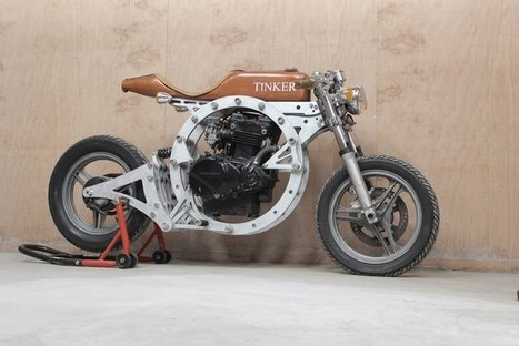 'Tinker' is a No-Weld, Open-Source Cafe Racer Assembled in 1 Hour | Heron | Scoop.it