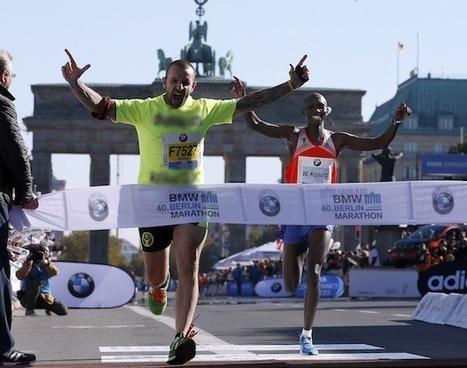 Guy Promoting Prostitution Site Ruins World Record Marathon Finish - SI.com | Running | Scoop.it