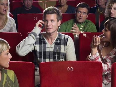 Lights, camera, shhh: Cell phones aren't the only bad manners in movies - TODAY.com | Troy West's Radio Show Prep | Scoop.it