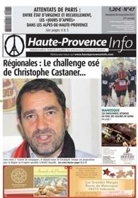 Attentats de Paris : les réactions dans les Alpes-de-Haute-Provence - Haute-Provence Info | Gilbert Sauvan | Scoop.it