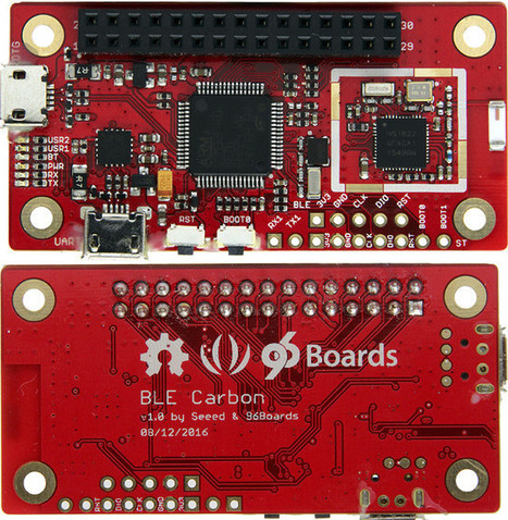 BLE Carbon 96Boards IoT Edition Board Runs Zephyr OS | Embedded Systems News | Scoop.it