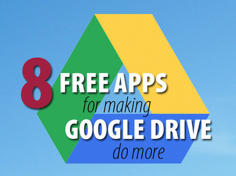 8 free apps that pump up Google Drive | Cloud Central | Scoop.it