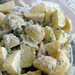 Menu di Pasqua 2013 contorno: insalata di erbe e patate   Benessere da Condividere   Dieta e attività fisica   Scoop.it