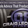 Craig Leonard Fitness Website