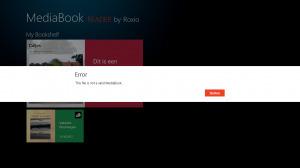Geen Book Creator boeken in MediaBook Reader op Windows 8 | E-books en E-readers | Scoop.it