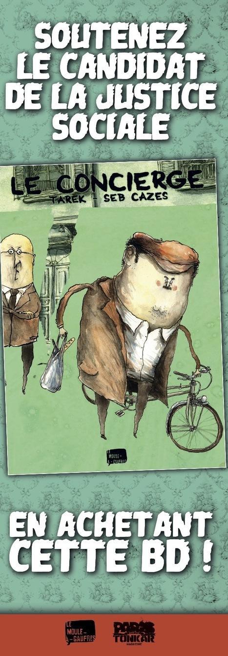 Le Concierge est en librairies ! | Bande dessinée et illustrations | Scoop.it
