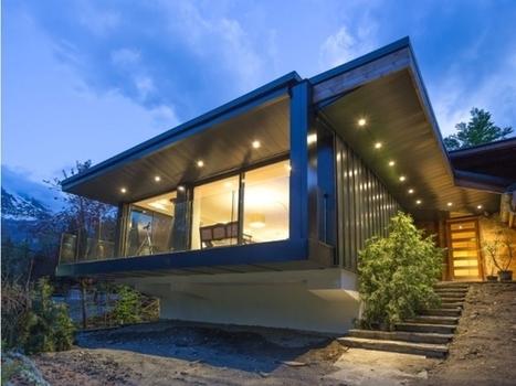 Un chalet moderne perché sur un promontoire | Construire sa maison avec un architecte | Scoop.it