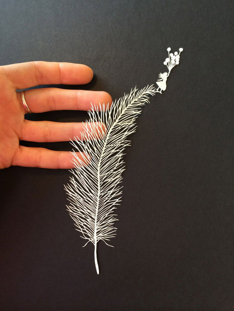 Extremely delicate hand cut paper art by Maude White | Paper is beautiful | Scoop.it