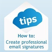 5 Tips to Create a Professional Email Signature | Manage My Dream - IT Services | Software Solutions | Business Consulting | Scoop.it