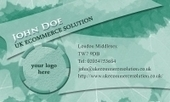 Business card template Splash | Cheap Business Cards | UK Ecommerce Software Solutions | Online Shopping cart | Scoop.it