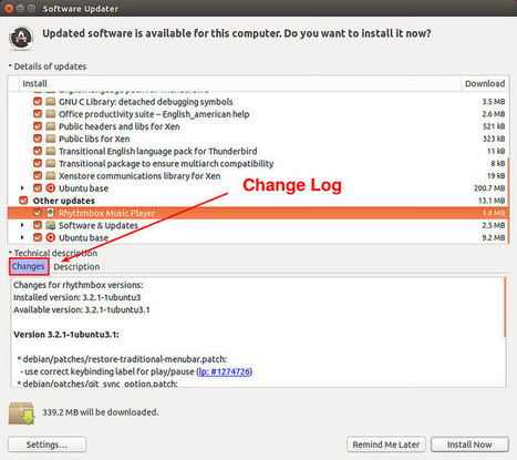 How to check the changelog of a package on Linux - Ask Xmodulo | Linux FAQ | Scoop.it