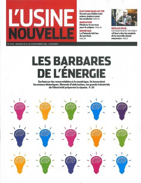 L'Usine Nouvelle n°3493 - 24/11/2016   Infothèque BBS Brest - L'actualité des revues   Scoop.it