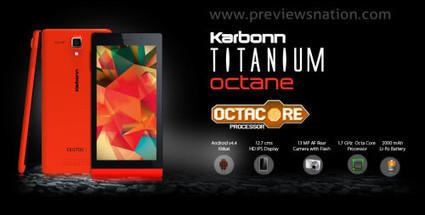 Karbonn Titanium Octane Price in India, Specification, Feature | Latest Smartphones | Scoop.it