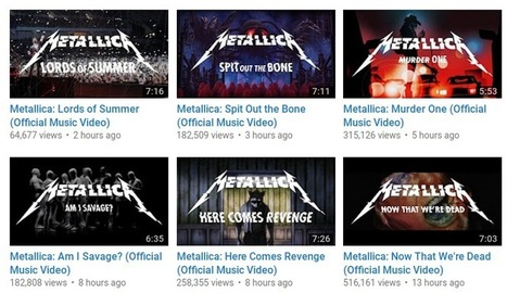 Metallica just put their entire new album on YouTube for free - Music Business Worldwide | MUSIC:ENTER | Scoop.it