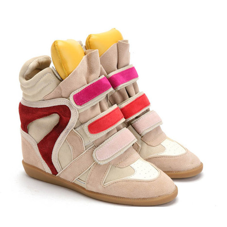 Upere Wedge Sneakers Yellow Pink - $189.37 | UPERE Wedge Sneakers Show | Scoop.it