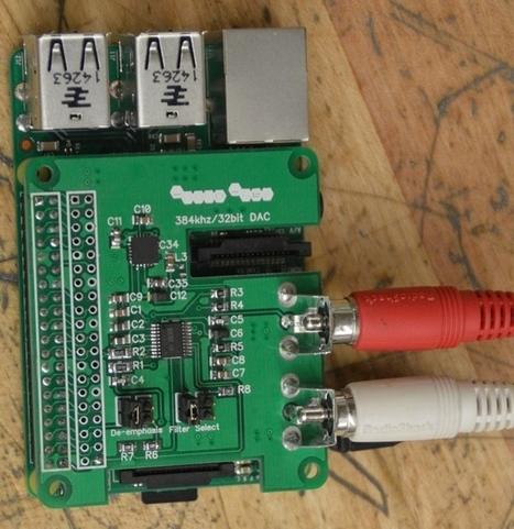 Lucid Labs Raspberry Pi DAC | Raspberry Pi | Scoop.it