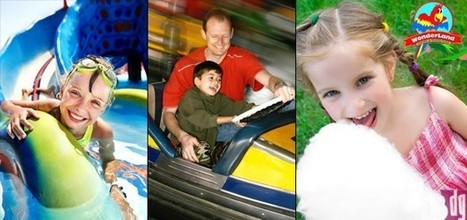 All day unlimited access to Splash Land water park and Wonderland theme park for fun with friends & family for AED 69 - children under the age of 4 go free! | Water Park | Scoop.it