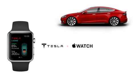 Control A Tesla Car From Your Apple Watch? | Dubai News & Views | Scoop.it
