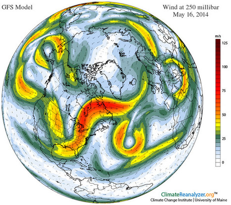 The Jetstream is a Nasty Drunk | Sustain Our Earth | Scoop.it