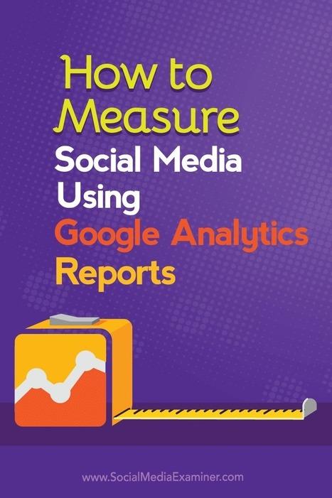 Measure Social Media Using Google Analytics | Social  Buzzr | Scoop.it