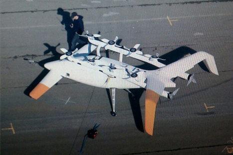 Google planche-t-il sur une voiture volante ?   Futusrism   Scoop.it